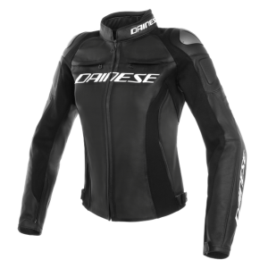 Giacca Moto Dainese Racing 3 Perf Lady in pelle