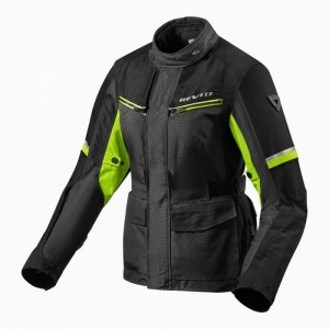 GIACCA REV'IT OUTBACK 3 LADIES black/neon yellow